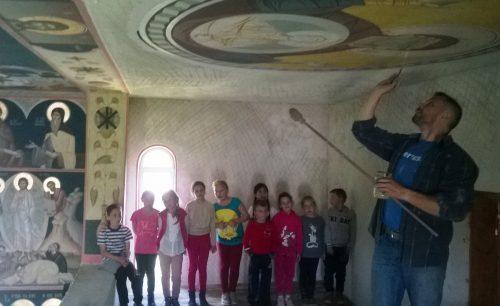 Ziua copilului, sărbătorită în avans în parohia Berchieșu