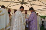 """Zi de sărbătoare pentru obștea Mănăstirii """"Sfântul Apostol și Evanghelist Ioan"""" de la Pădureni"""