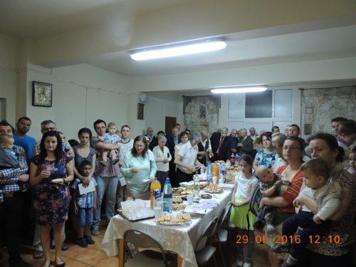 Sărbătoarea familiei, în parohia clujeană Nașterea Domnului