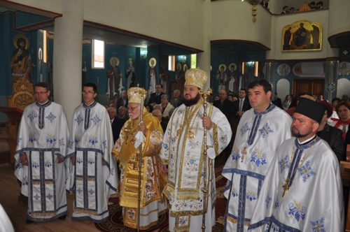 Zi de sărbătoare la biserica Sfântul Apostol Toma din Zalău
