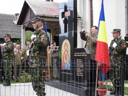 Monument al eroilor, sfințit în parohia Nimigea de Sus
