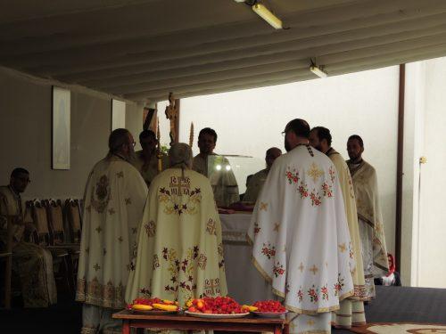 Trei zile de sărbătoare la Mănăstirea Florești în cinstea Sf. Onufrie