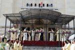 Procesiunea de Rusalii de la Cluj, condusă de doi ierarhi