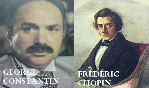 George Constantin și Frédéric Chopin