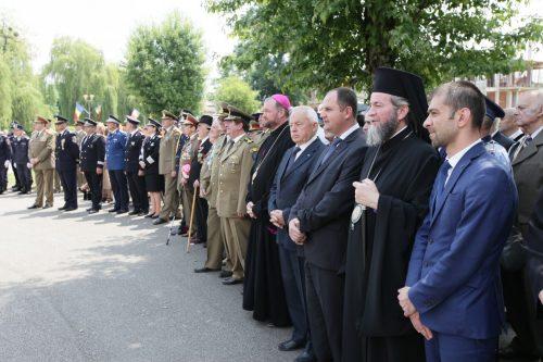 P.S. Iustin Sigheteanul a oficiat slujba de pomenire a eroilor neamului