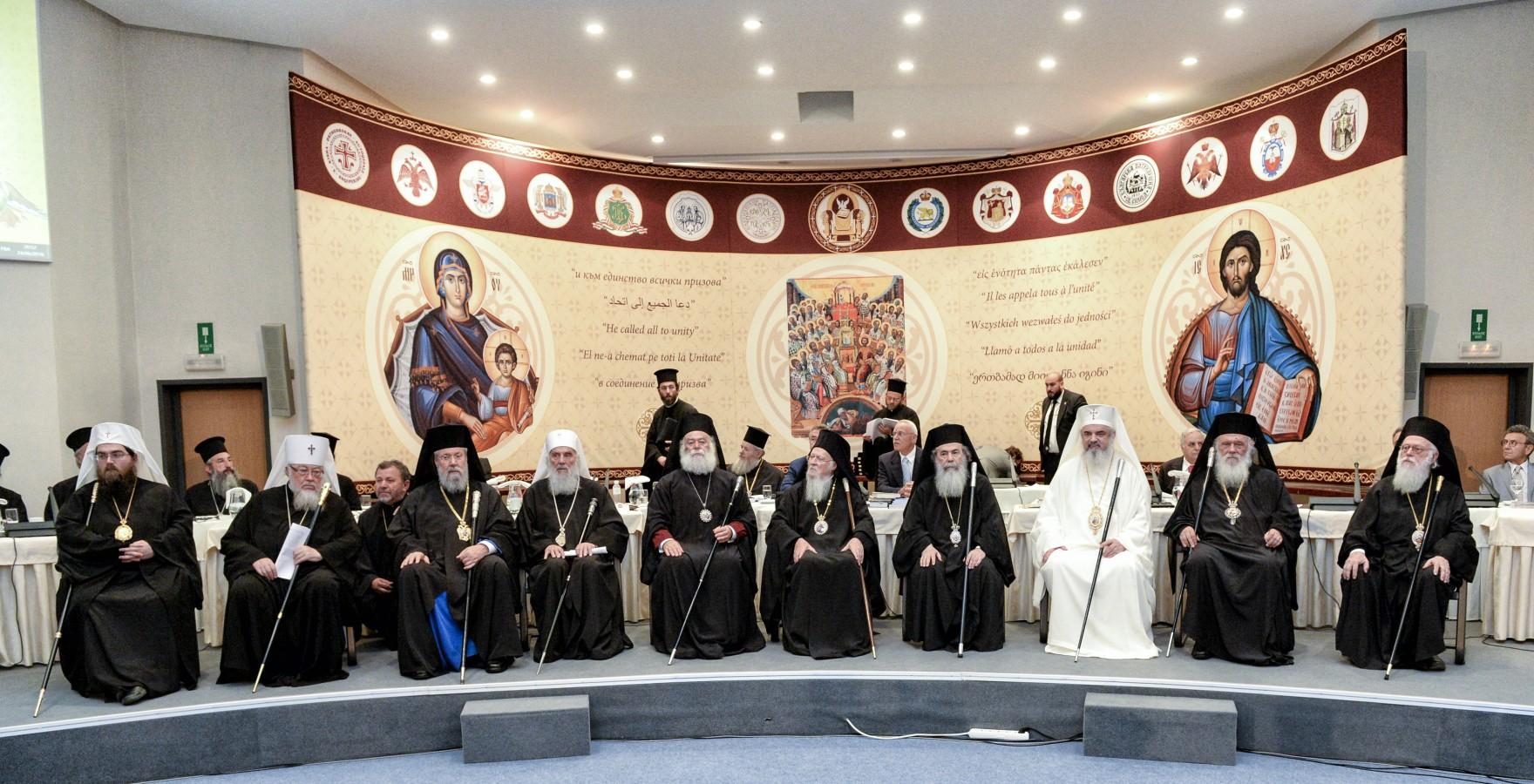 Enciclica Sfântului și Marelui Sinod al Bisericii Ortodoxe I – pr. Patriciu Vlaicu