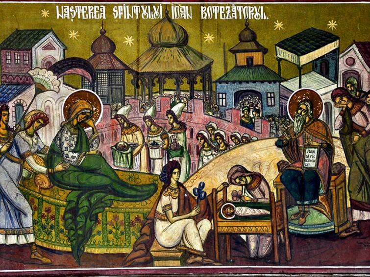 Agenda Ierarhilor din Mitropolia Clujului, de praznicul Nașterii Sfântului Ioan Botezătorul
