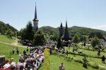 Hramul Mănăstirii Maramureșene Bârsana