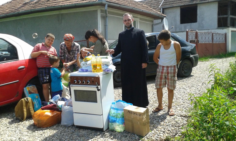 Ajutoare oferite de Protopopiatul Cluj I