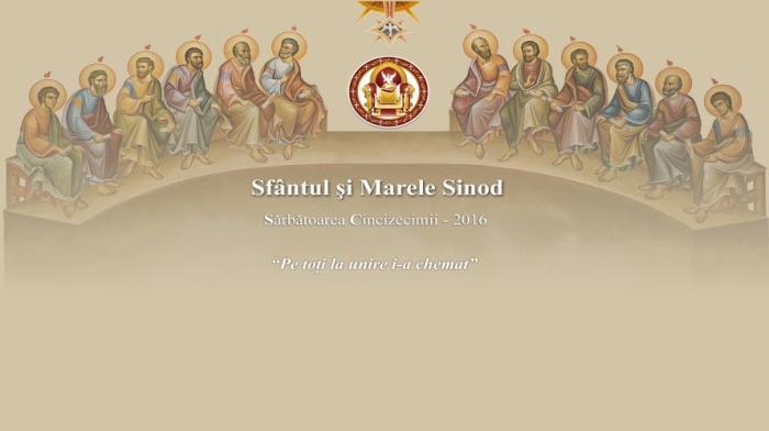 Organizarea Sfântului și Marelui Sinod