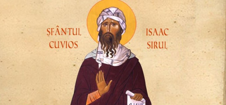 <span style='color:#B00000  ;font-size:14px;'>Sfinții Părinți contemporanii noștrii</span> <br> Sfântul Cuvios Isaac Sirul</p>