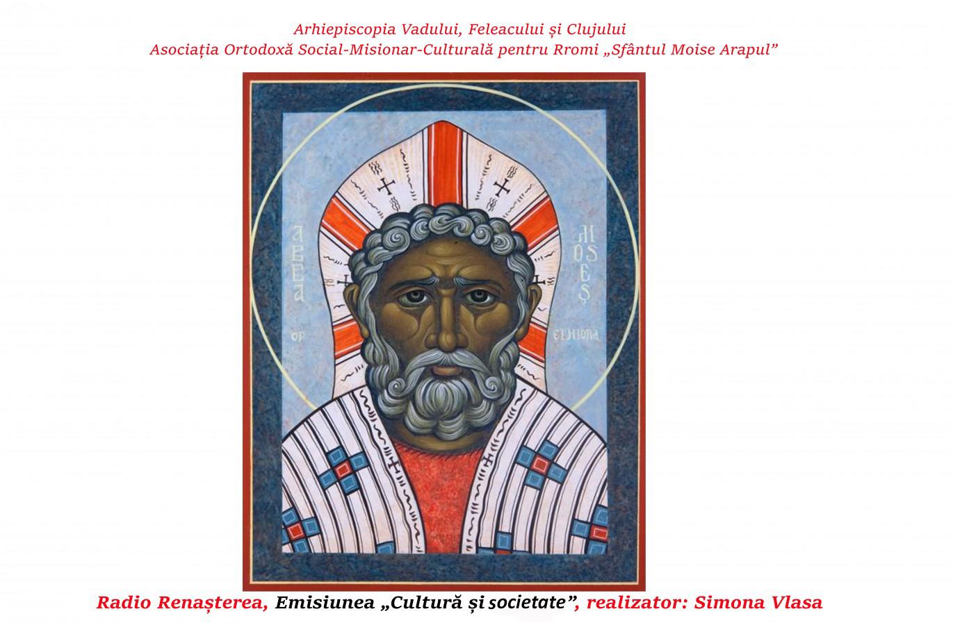 """Asociaţia Ortodoxă Social-Misionar-Culturală pentru Rromi """"Sfântul Moise Arapul"""""""