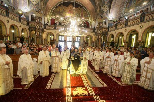 """Târnosirea Catedralei """"Adormirea Maicii Domnului"""" din Satu Mare"""