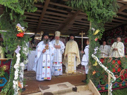 """Primul hram al Mănăstirii """"Sfinții Martiri Brâncoveni"""" din localitatea Mărișel"""