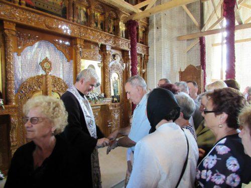 Sărbătoare în vechea biserică a Mănășturului