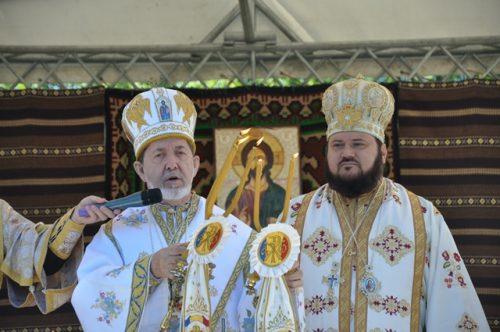 Târnosirea bisericii din Parohia Jac, Episcopia Sălajului