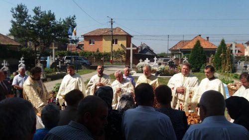 Sărbătoarea hramului, în parohia clujeană Sânicoară