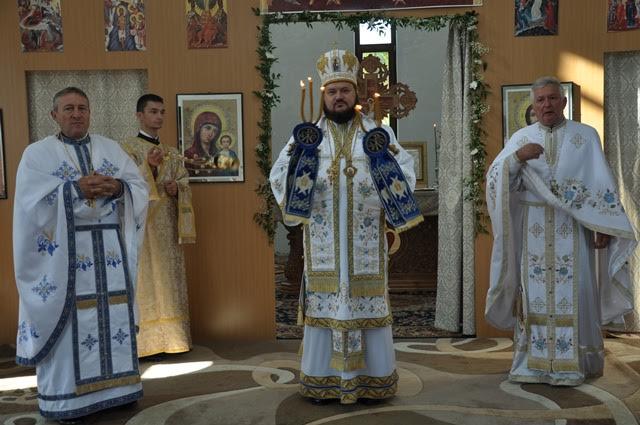 """Liturghie arhierească, la biserica ,,Nașterea Maicii Domnului"""" din Zalău"""