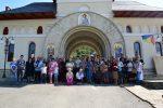 Creștinii din Berchieșu, în pelerinaj la mănăstirile din zona Clujului şi a Năsăudului
