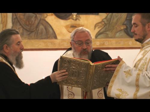 Binecuvântarea amplelor lucrări de renovare a cantinei Seminarului Teologic din Cluj-Napoca