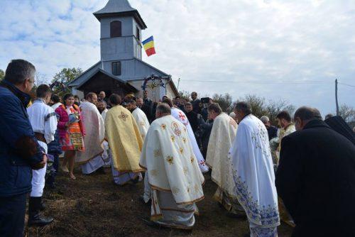 Binecuvântarea bisericii ortodoxe din satul Puini