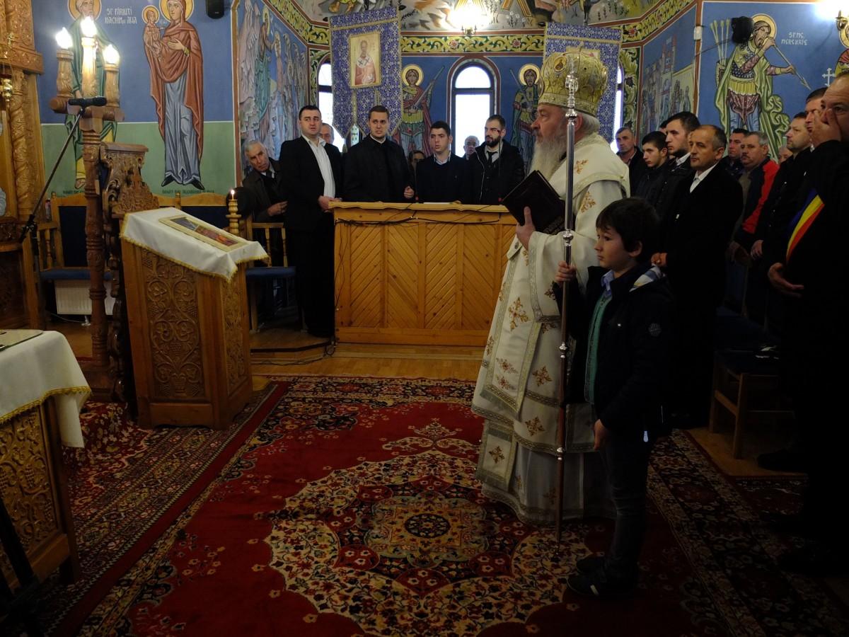 Lucrările de renovare a bisericii parohiei Recea – Cristur, binecuvântate de Mitropolitul Clujului