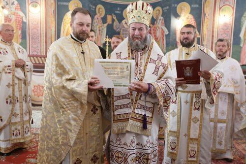 """Liturghie Arhierească la biserica """"Bunavestire"""" din Baia Mare"""