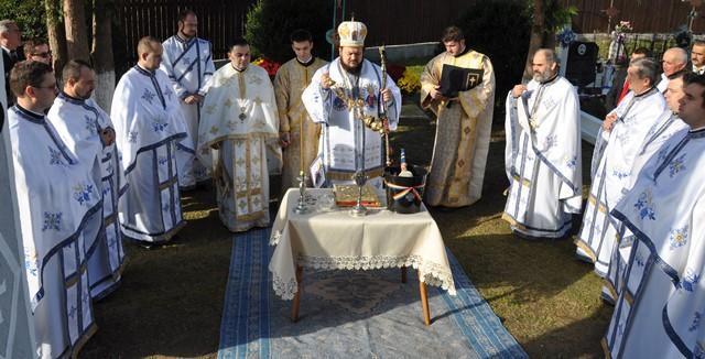 Resfințirea bisericii din Parohia Chendrea, Episcopia Sălajului
