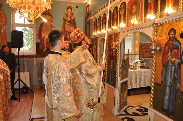 Resfințirea bisericii din localitatea Sutor, Episcopia Sălajului