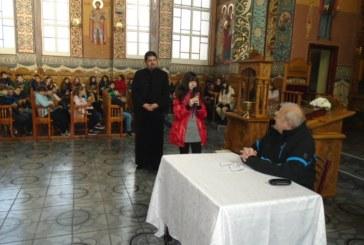 """Dialog de suflet în Parohia Ortodoxă """"Nașterea Domnului"""" cu elvi de la Școala """"Constantin Brâncuși""""  din Cluj-Napoca"""