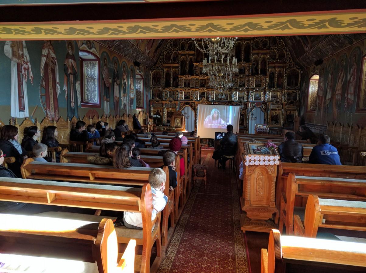 Întâlniri catehetice pentru copii și tineri în parohia bistrițeană Ciceu Giurgești