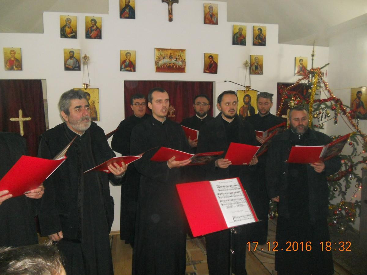 """Seară de rugăciune și colinde la parohia """"Sf. Marcu"""" din Florești"""