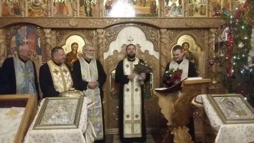 Creștinii ortodocși din Berindu au primit de Crăciun darul unui nou păstor