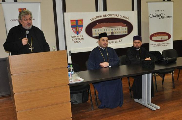 """Conferinţă din seria """"Glasul Bisericii în cetate"""" la Zalău"""