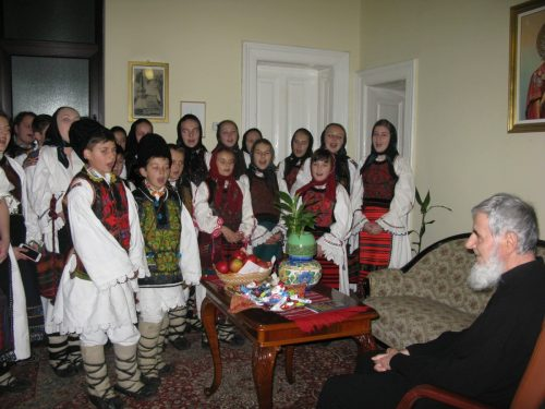 Vestitorii Nașterii Domnului au ajuns la Centrul Eparhial din Cluj-Napoca