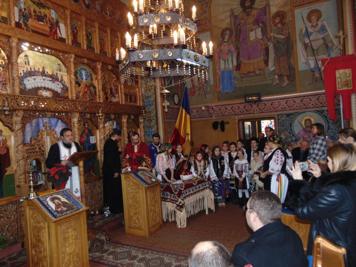 Hram în parohia ortodoxă Gilău