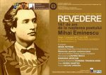 """""""REVEDERE"""" – 167 de ani de la nașterea poetului Mihai Eminescu"""