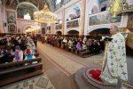 Preasfinţitul Episcop Iustin a slujit la Catedrala Istorică din Baia Mare alături de Pr. Prof. Univ. Dr. Stelian Tofană