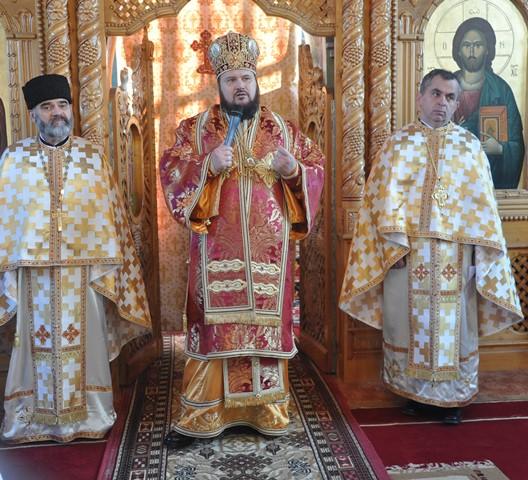 Liturghie Arhierească la Parohia Șimișna din Episcopia Sălajului