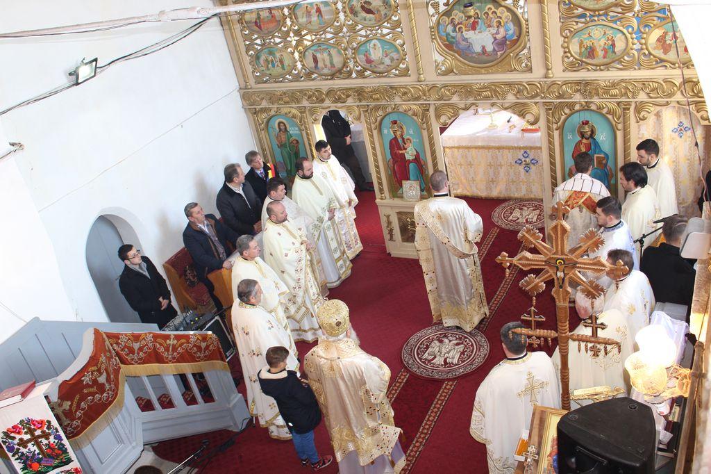 Bucurie duhovnicească, în comunitatea ortodoxă a parohiei Sîngeorzu Nou