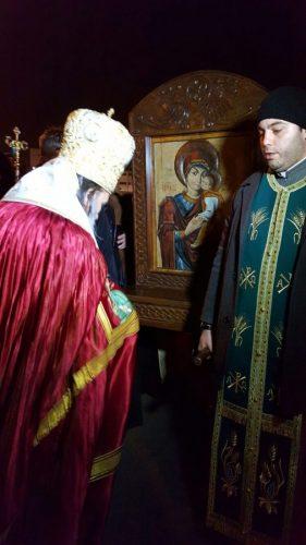 Icoana Maicii Domnului cu Pruncul de la Muzeul Mitropoliei Clujului, în pelerinaj la Constanța
