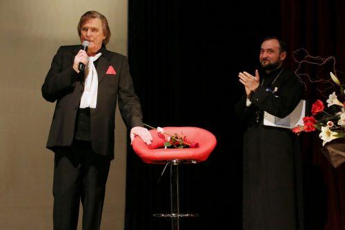 [FOTO] Recital caritabil, susținut de Florin Piersic la Cluj