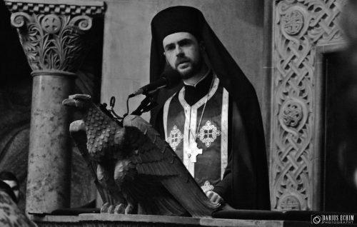 [AUDIO] Predica arhim. Antonie Pinţa, exarhul mănăstirilor din Episcopia Sălajului, în Catedrala Mitropolitană