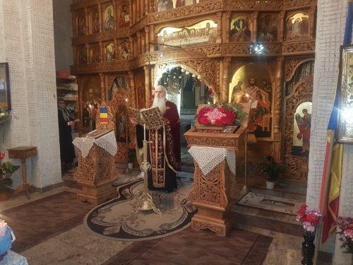 Seară duhovnicească în parohia Gherla IV, în Duminica Sf. Ioan Scărarul