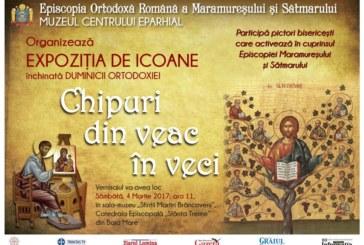 Expoziţie de icoane,  la Catedrala Episcopală  din Baia Mare