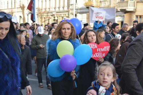 1500 de clujeni au spus de Buna Vestire, NU Avortului