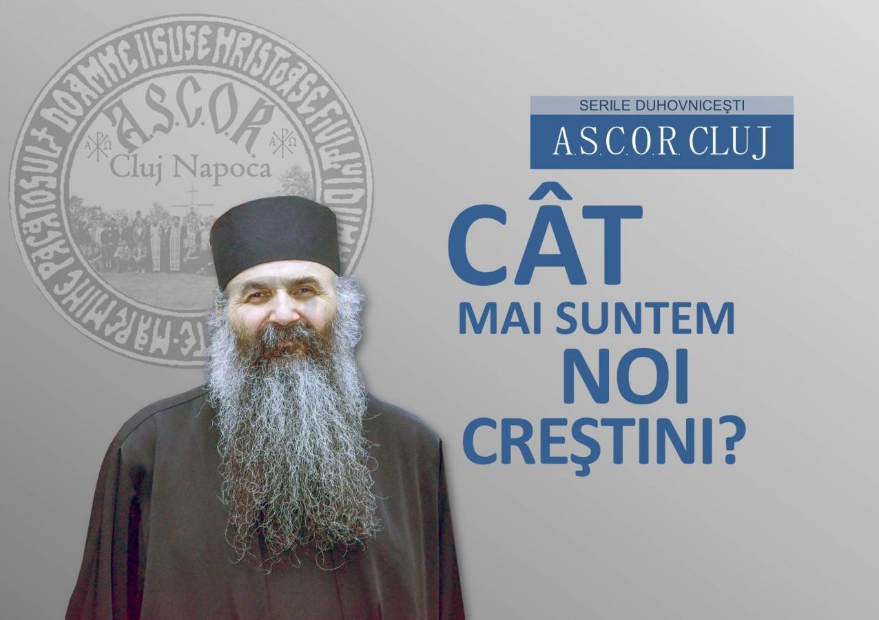 Seară duhovnicească A.S.C.O.R. Cluj – Ieromonah IOAN COJANU
