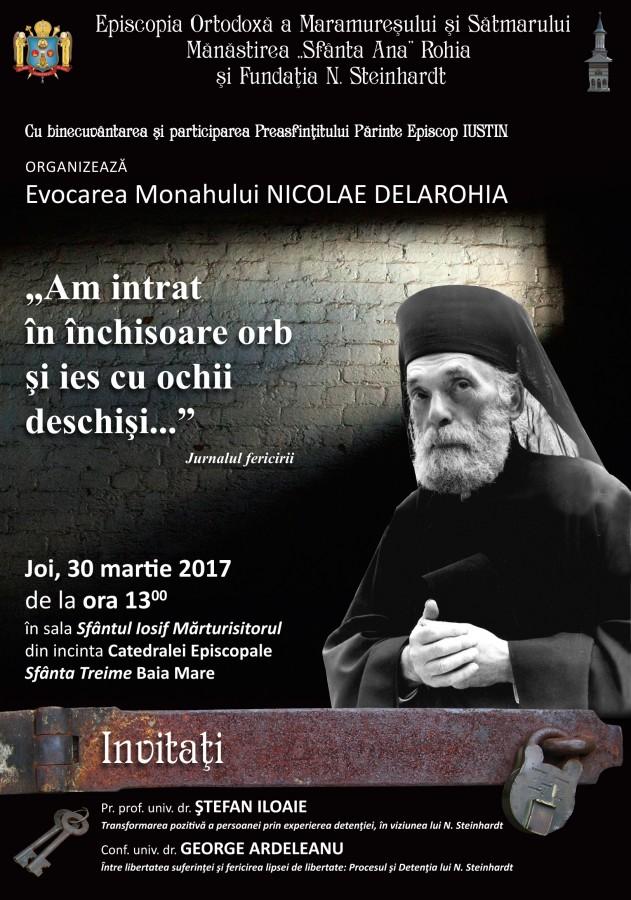 Evocarea Monahului NICOLAE DE LA ROHIA