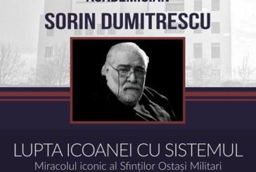 Academicianul Sorin Dumitrescu va conferenția la Cluj-Napoca