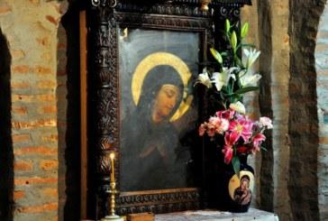 Icoana Maicii Domnului de la Mănăstirea Rohia, adusă la Catedrala Episcopală din Baia Mare